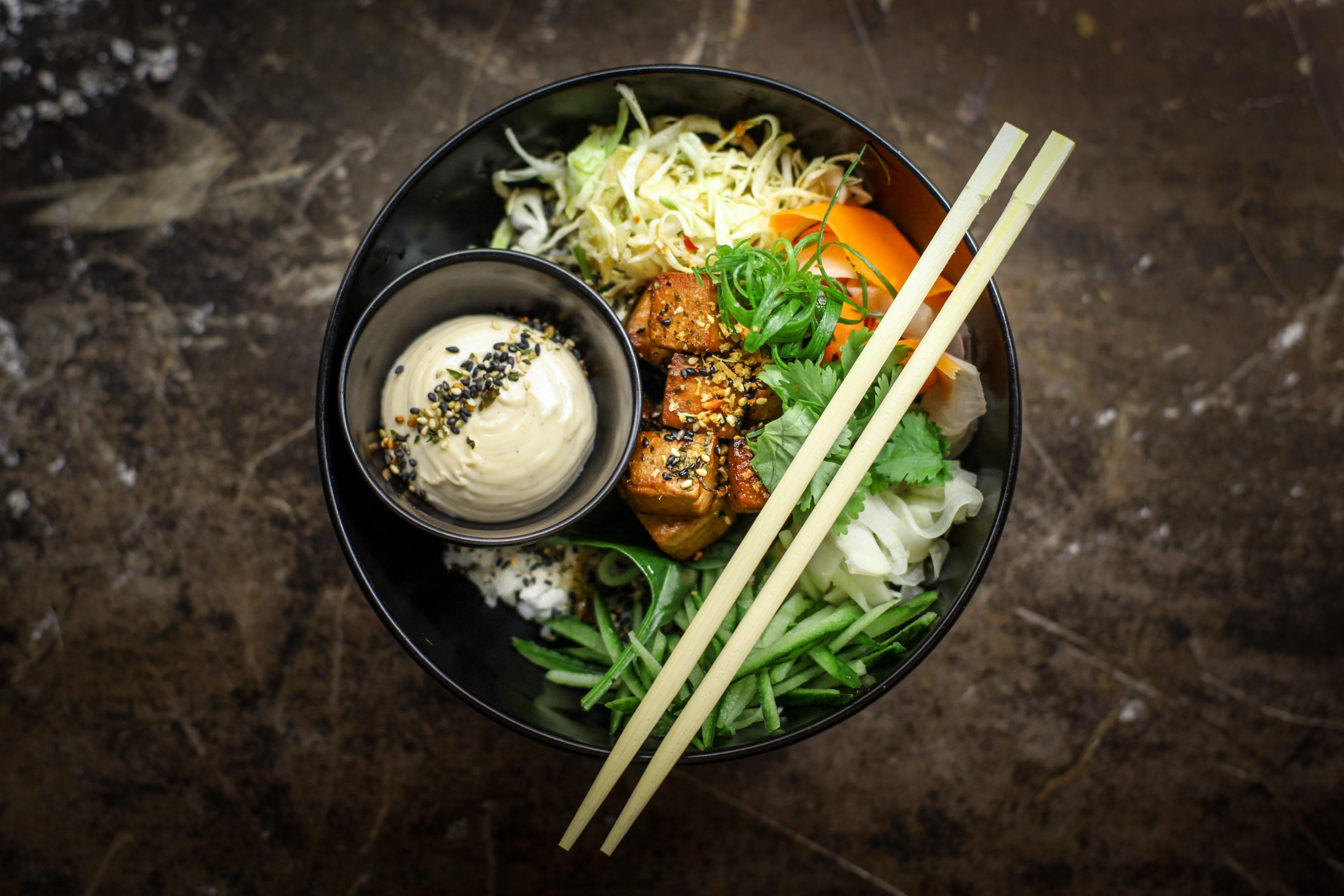 Hot Tofu Bowl
